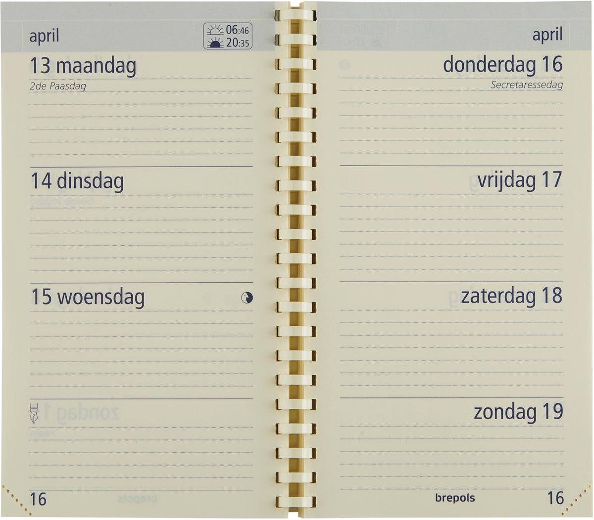 Brepols Optivision Pocket vulling, Nederlands, 2022