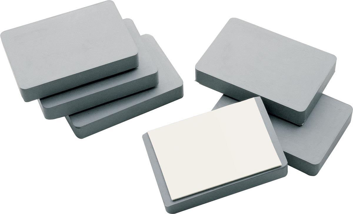 Legamaster blokmagneet om borden op te hangen, zelfklevend, ft 5 x 7,5 x 1,2 cm (h x b x d)