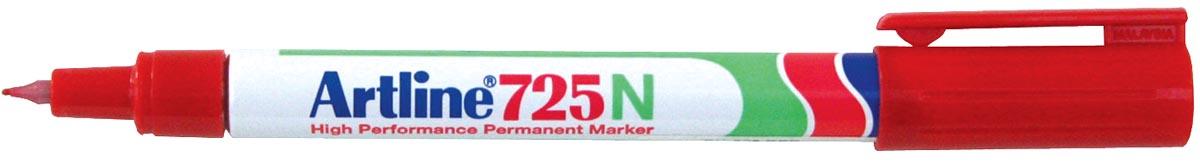 Permanent marker Artline 725 rood