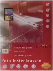 Multo geperforeerde showtas voor foto's ft A5, 2 vakken, pak van 10 stuks