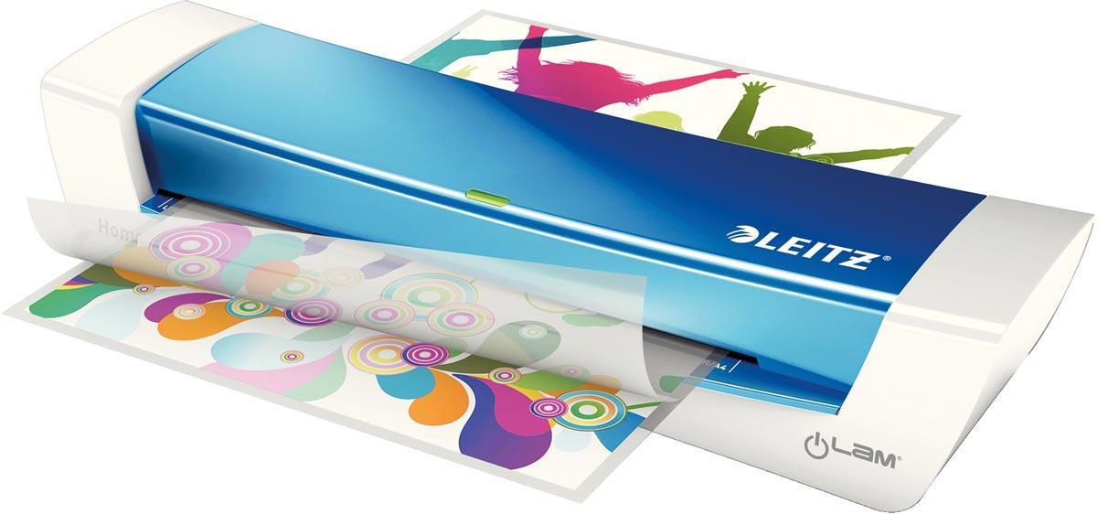 Leitz iLAM Home Office lamineermachine voor ft A4, blauw
