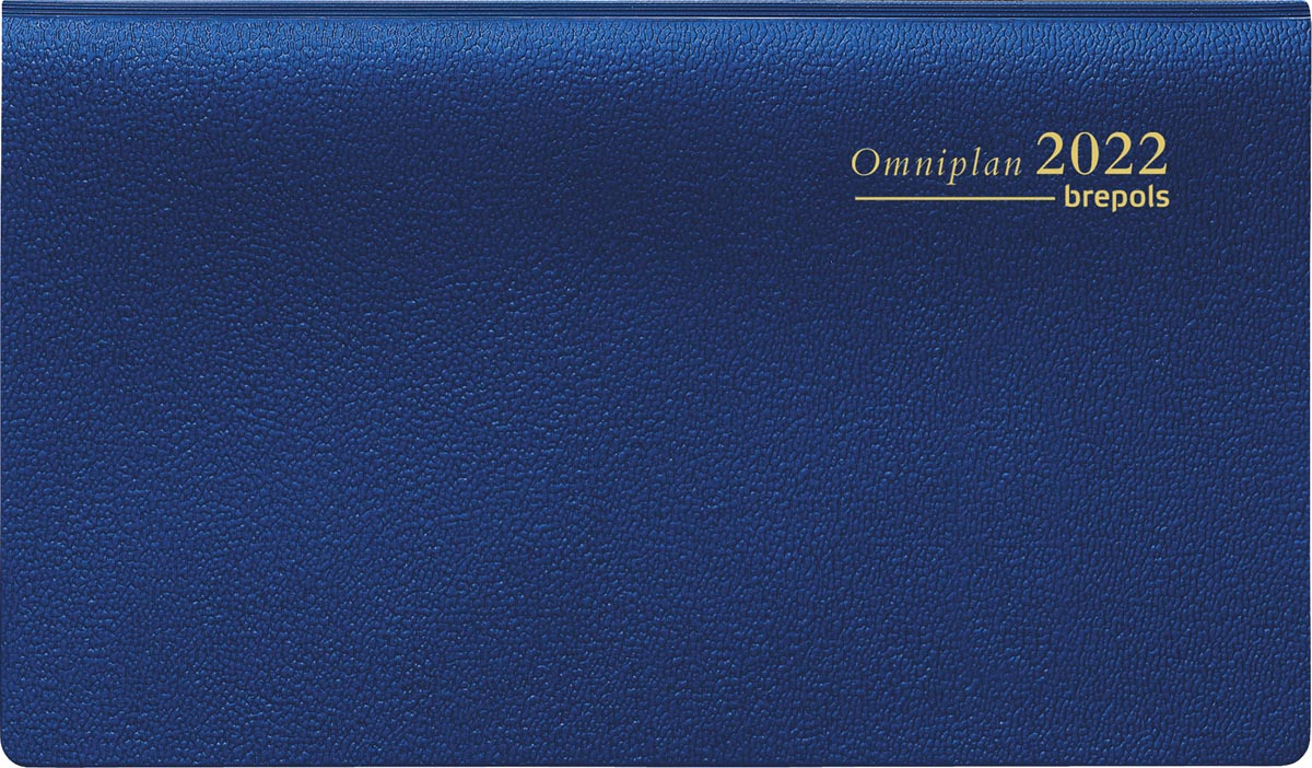 Brepols Omniplan Genova, blauw, 2022