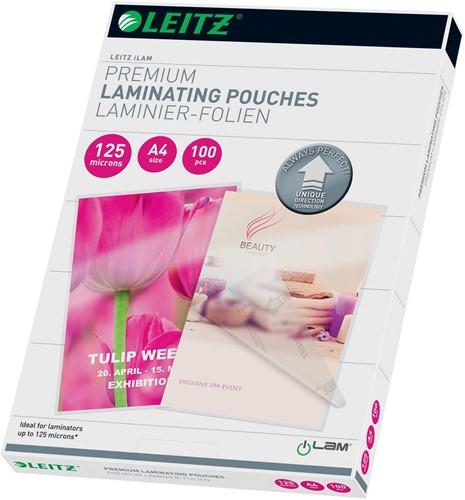 Leitz Ilam lamineerhoes ft A4, 250 micron (2 x 125 micron), pak van 100 stuks