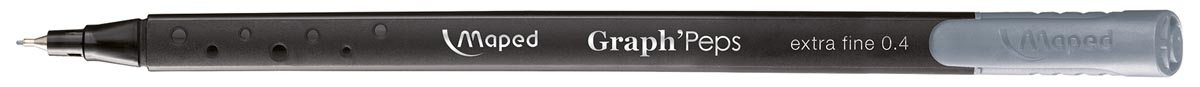 Maped Graph'Peps fineliner, gentle grey