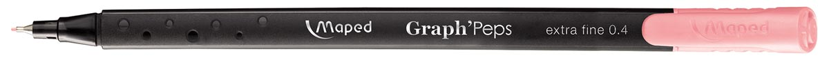 Maped Graph'Peps fineliner, blush