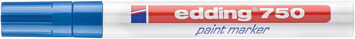 Edding Paint Marker e-750, blauw