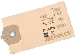 TASKI stofzak voor Vento 8, uit papier, pak van 10 stuks