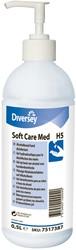 Soft Care handontsmetter, flacon van 500 ml