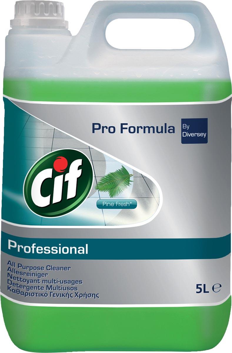 Cif allesreiniger dennenfris, fles van 5 liter