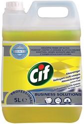 Cif allesreiniger citroenfris, fles van 5 liter
