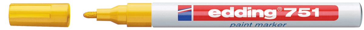 Edding paintmarker e-751 Professional geel