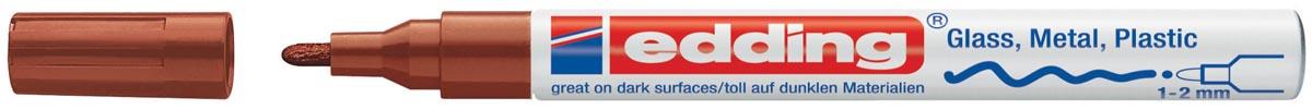 Edding paintmarker e-751 bruin