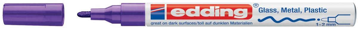 Edding paintmarker e-751 paars