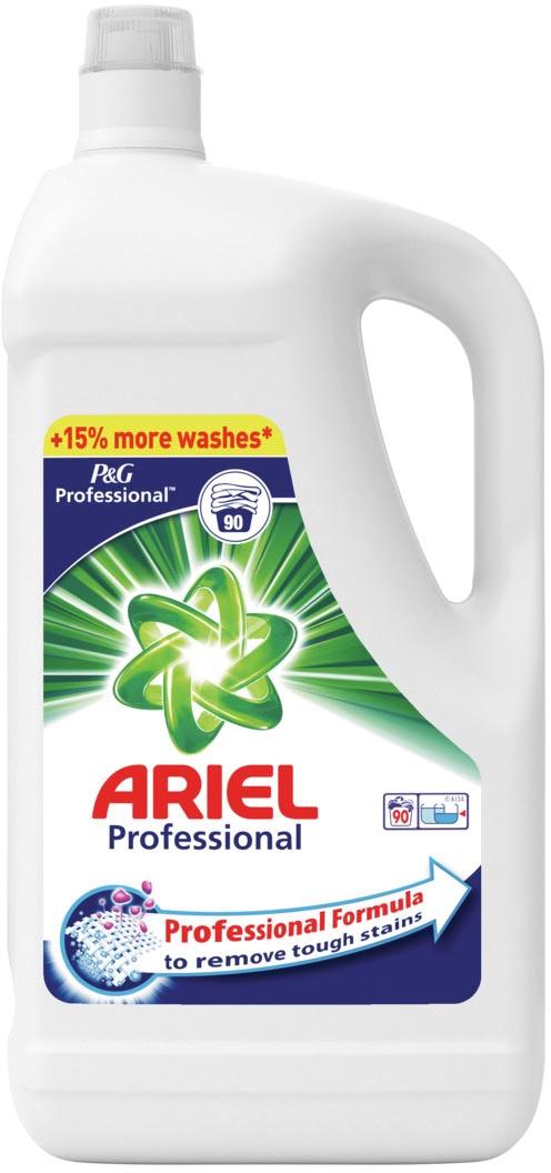 Afbeelding van Ariel vloeibaar wasmiddel Actilift, voor witte was, 90 wasbeurten, flacon van 4,95 liter