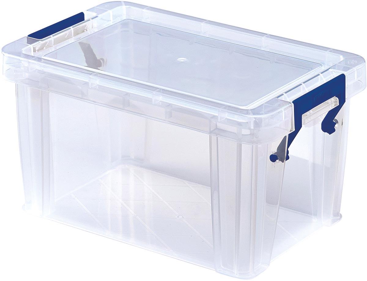 Bankers Box opbergdoos ProStore 1,7 liter, transparant
