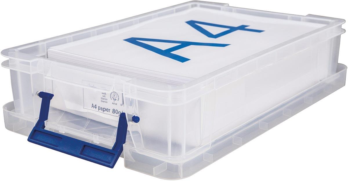 Bankers Box opbergdoos ProStore 5,5 liter, transparant