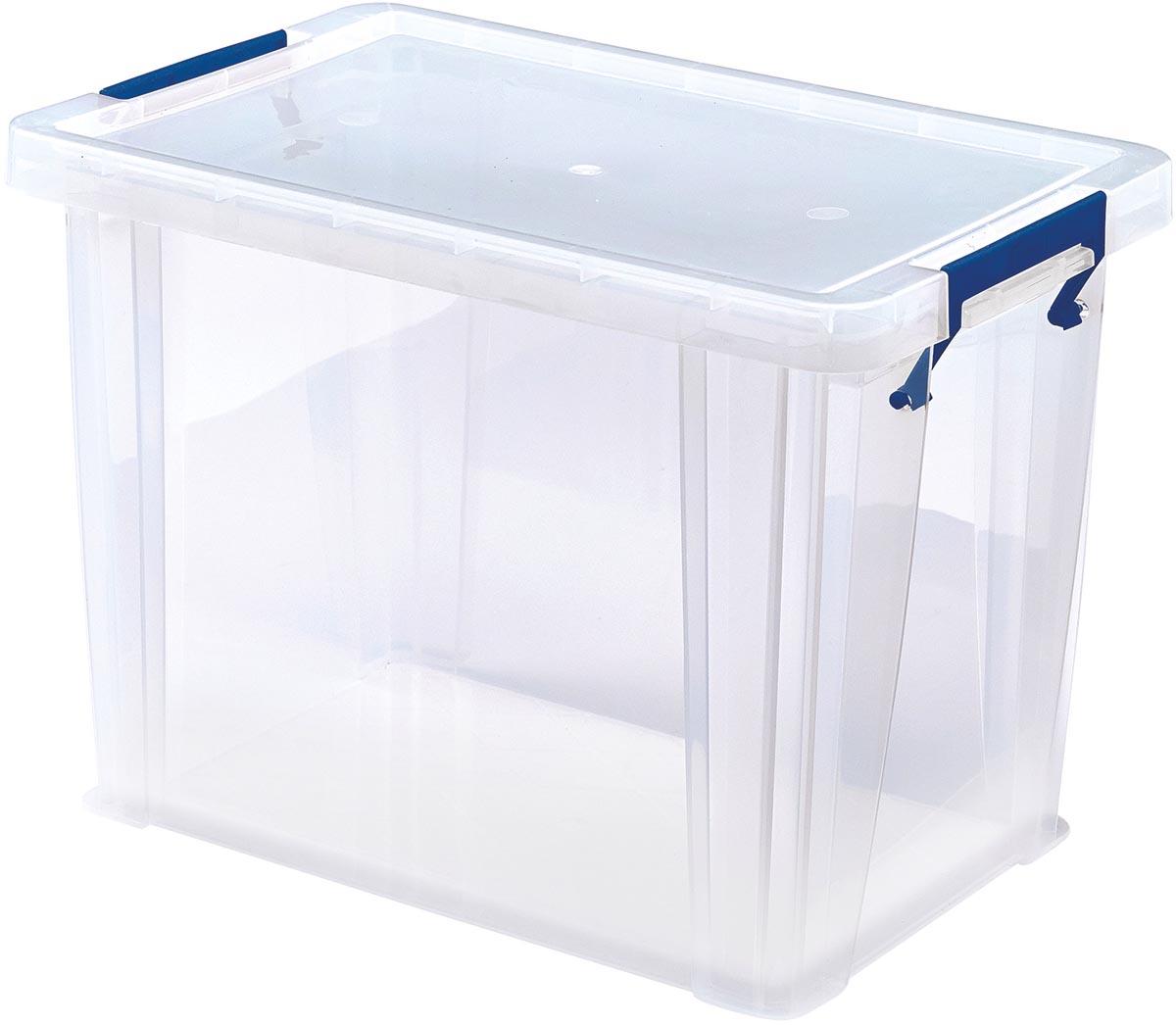 Bankers Box opbergdoos ProStore 18,5 liter, transparant