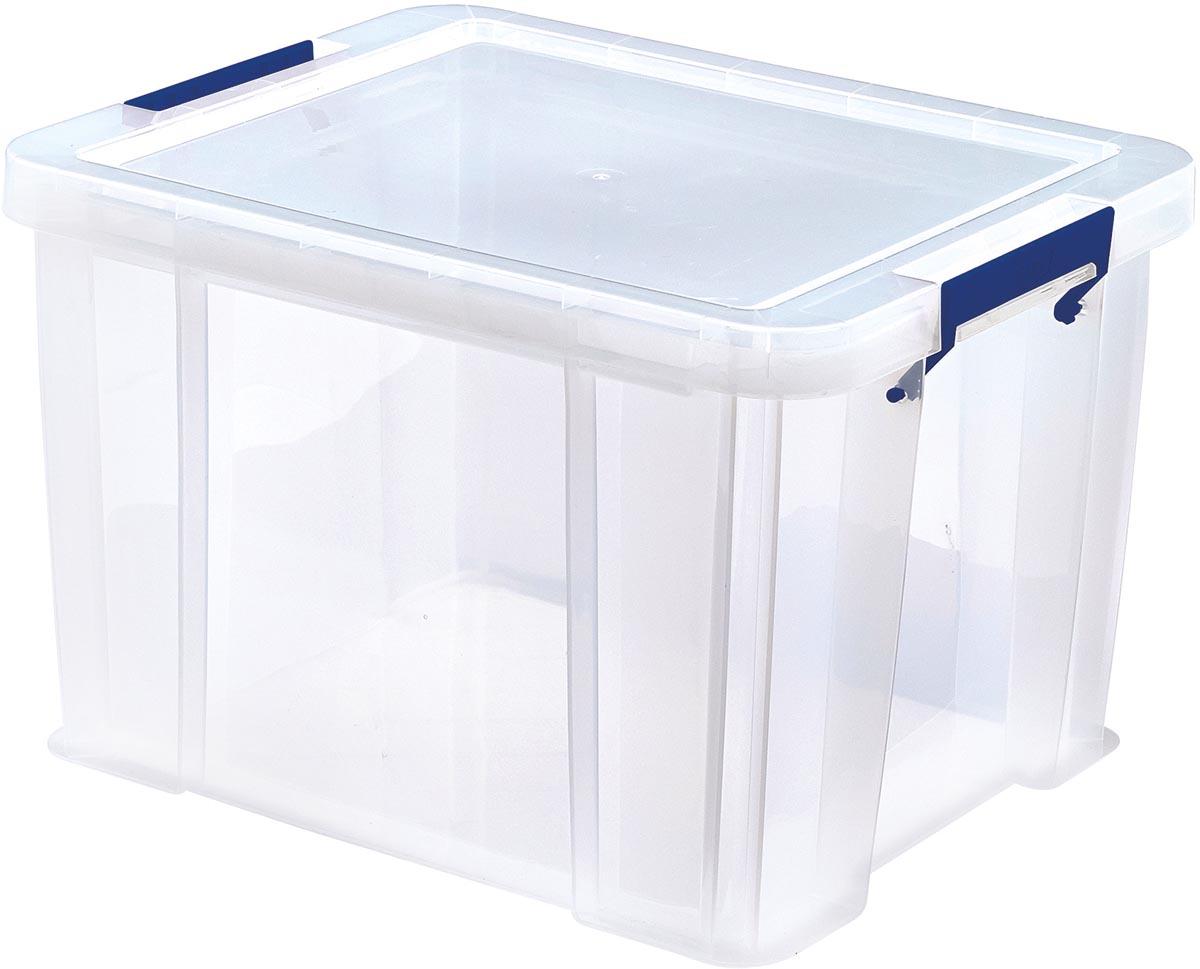 Bankers Box opbergdoos ProStore 36 liter, transparant