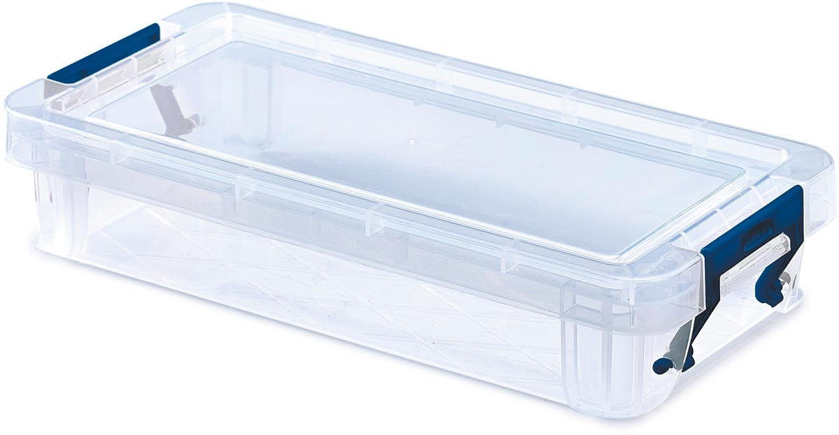 Bankers Box opbergdoos voor potloden ProStore 0,75 liter, transparant, small