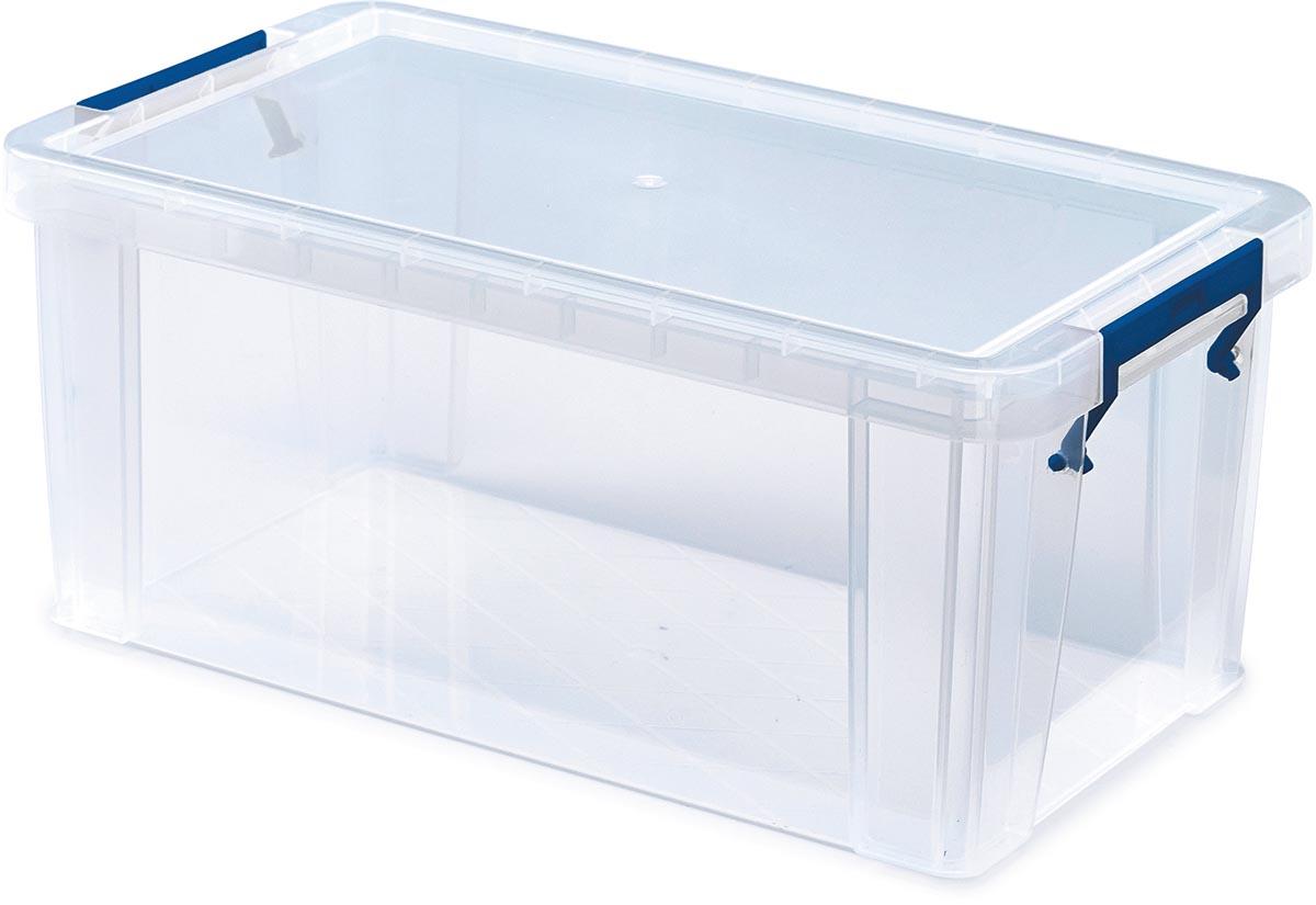 Bankers Box opbergdoos ProStore 7,5 liter, transparant