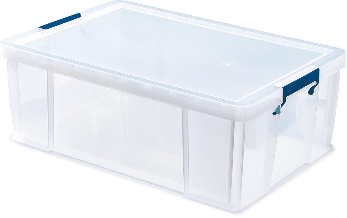 Bankers Box opbergdoos ProStore 51 liter, transparant