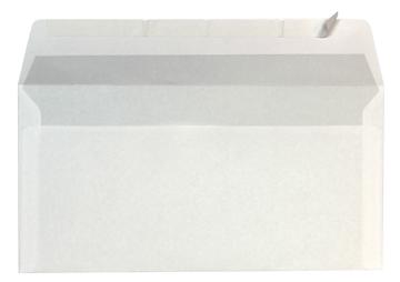 Enveloppen ft 110 x 220 mm strip doos van 500 stuks