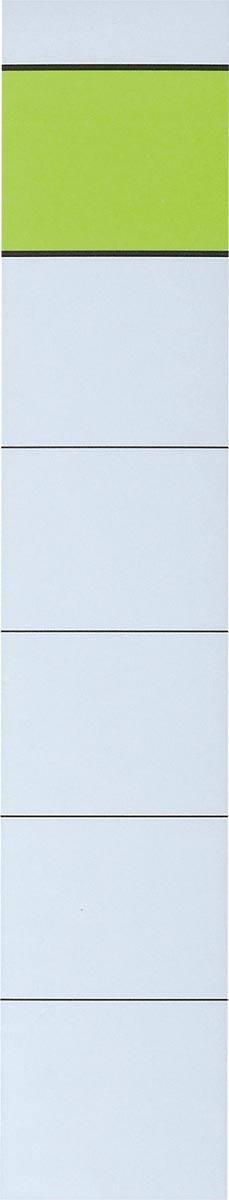 Zelfklevende rugetiketten ft 3,6 x 19 cm, pak van 10 stuks