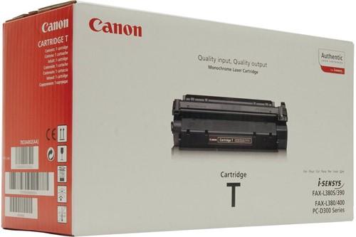 Canon toner T, 3.500 pagina's, OEM 7833A002, zwart