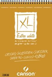 Canson schetsblok XL Extra White ft 21 x 29,7 cm (A4)