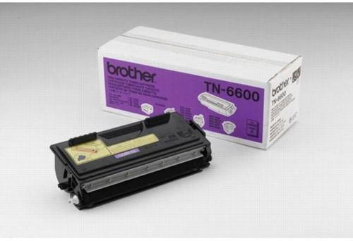 Brother toner, 6.000 pagina's, OEM TN-6600, zwart
