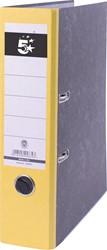 5 Star ordner geel, rug van 8 cm