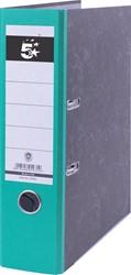 5 Star ordner groen, rug van 8 cm