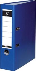 5 Star ordner, ft A4, rug van 8 cm, uit PP en papier, blauw