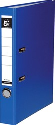 5 Star ordner, ft A4, rug van 5 cm, uit PP en papier, lichtblauw