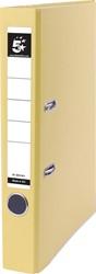 5 Star ordner, ft A4, rug van 5 cm, uit PP en papier,geel