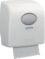 Kimberly Clark handdoelroldispenser Aquarius, voor navullingen Slimrol, kleur: wit