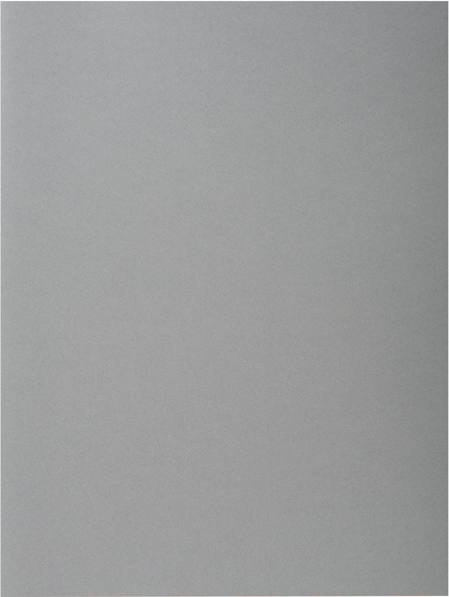 Exacompta dossiermap Rock's 80, ft 22 x 31 cm, pak van 100, grijs