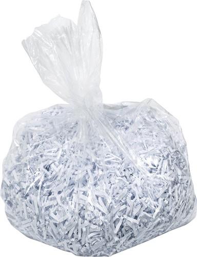 Leitz IQ opvangzakken voor papiervernietigers 20-40 l, pak van 100 zakken