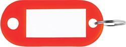 Sleutelhanger rood, doos van 100 stuks