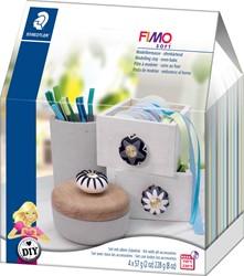 Staedtler Fimo Soft boetseerpasta Home Deco DIY set, knoppen
