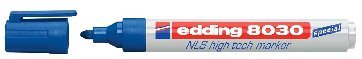 Edding NLS High-Tech marker e-8030 blauw