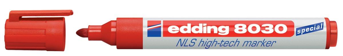 Edding NLS High-Tech marker e-8030 rood