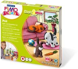 Staedtler Fimo Kids play & form huisdieren