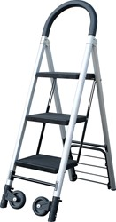 Ladder en steekwagen combinatie
