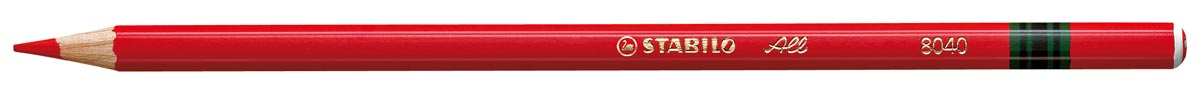 Kleurpotlood Stabilo All rood