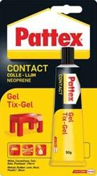 Pattex contactlijm Tix-Gel, tube van 50 g, op blister