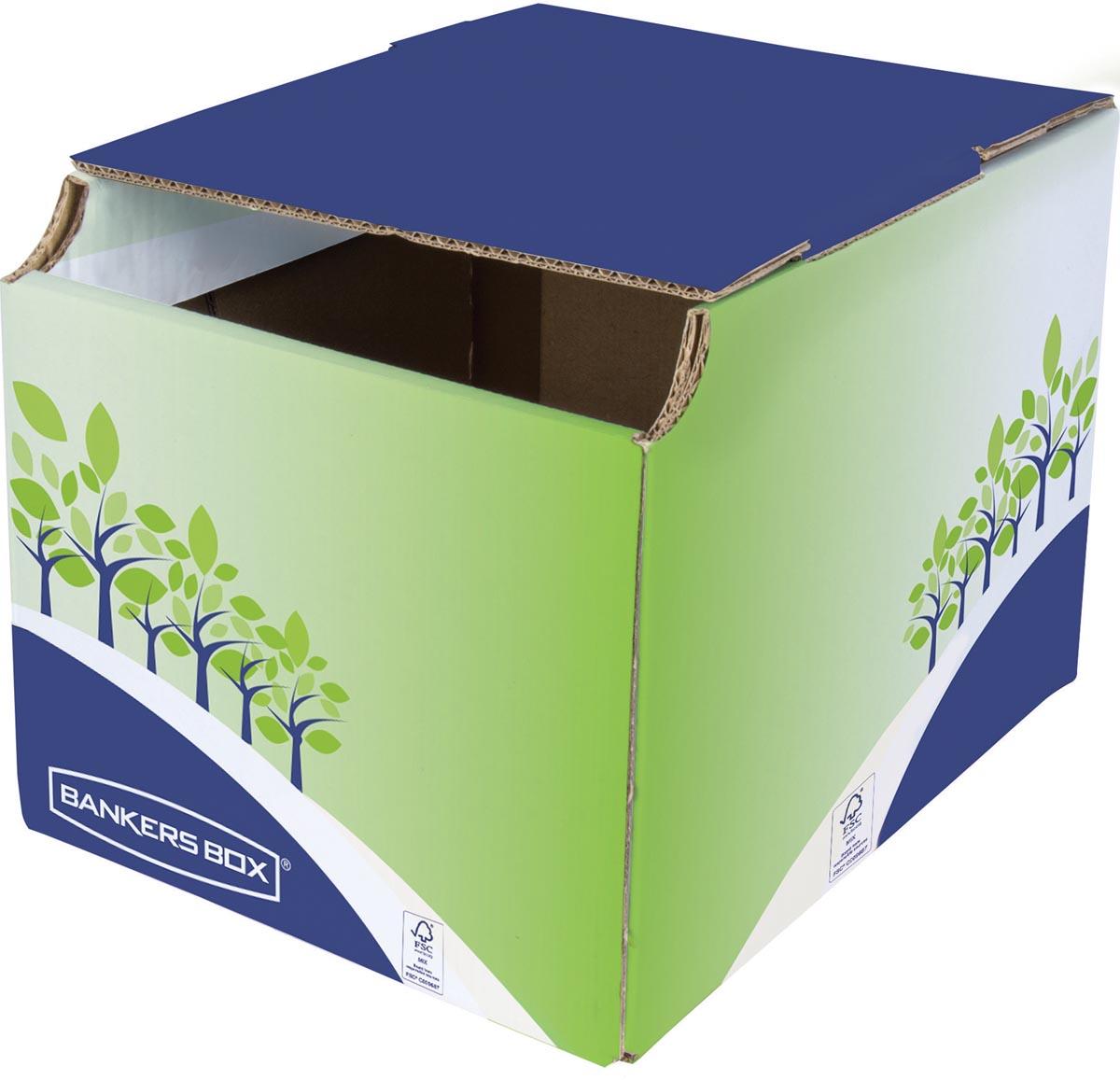Bankers Box Prullenbak, FSC gecertificeerd karton