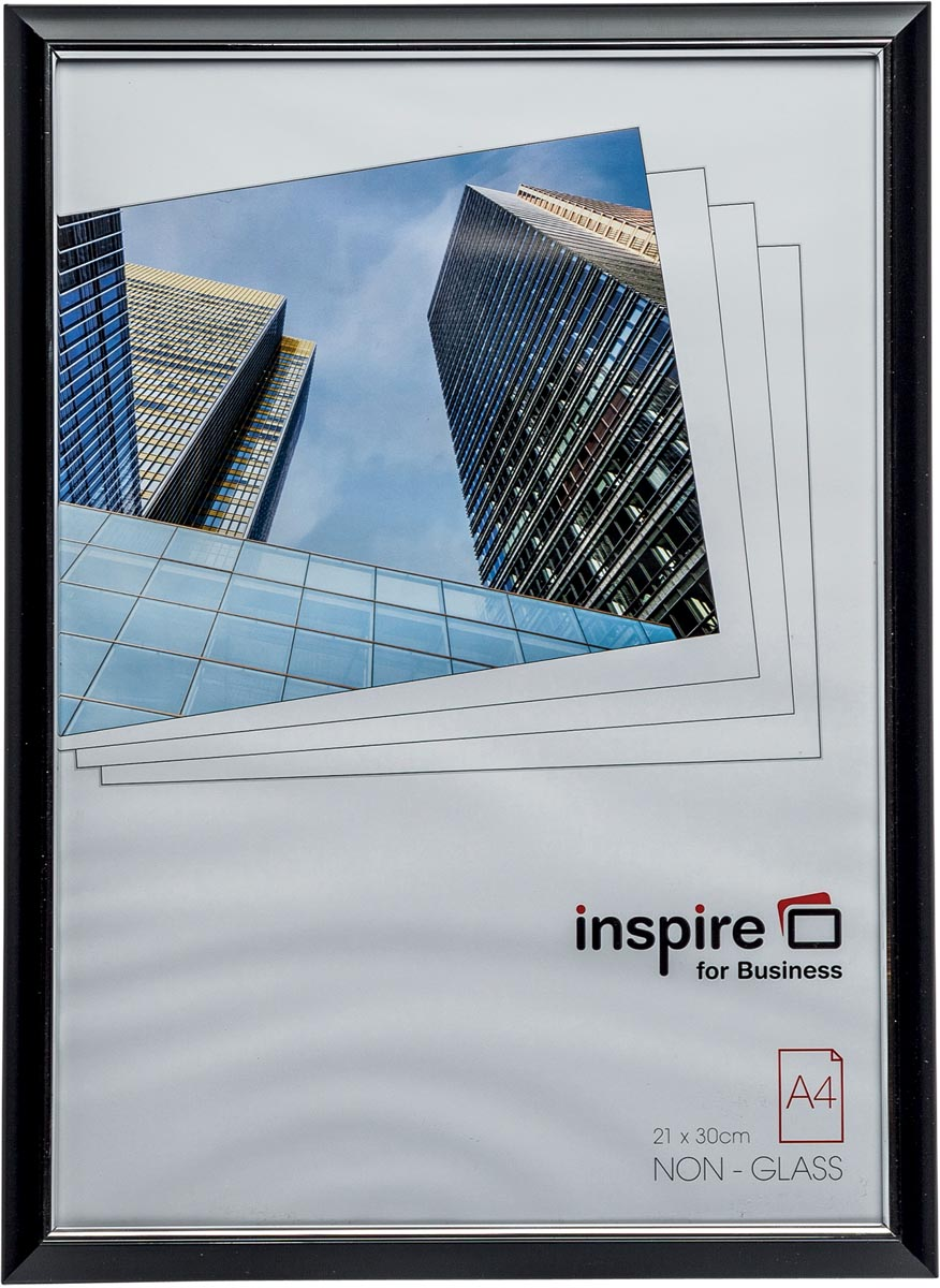 Inspire for Business fotokader Easyloader, zwart, ft A4