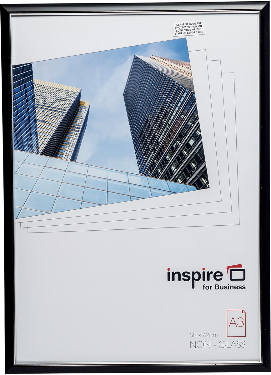 Inspire for Business fotokader Easyloader, zwart, ft A3