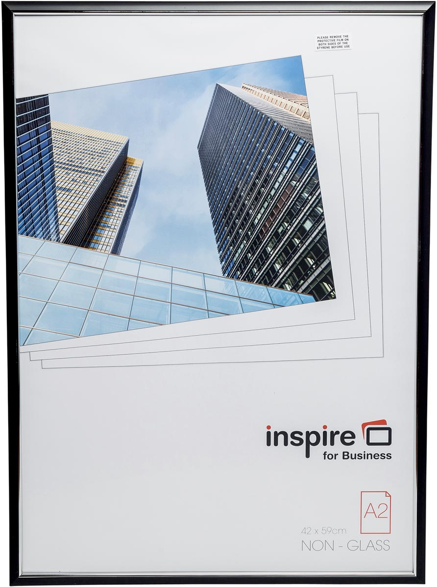 Inspire for Business fotokader Easyloader, zwart, ft A2